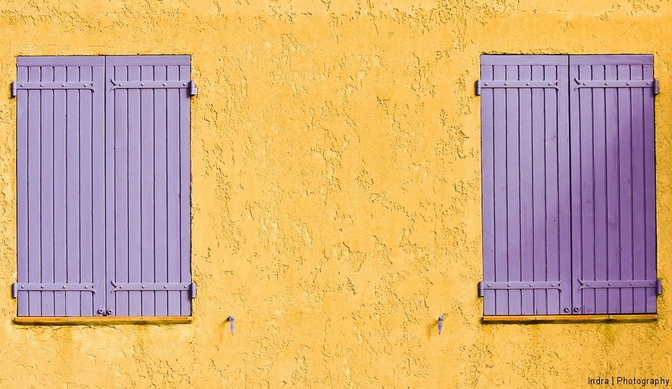 paarse shutter
